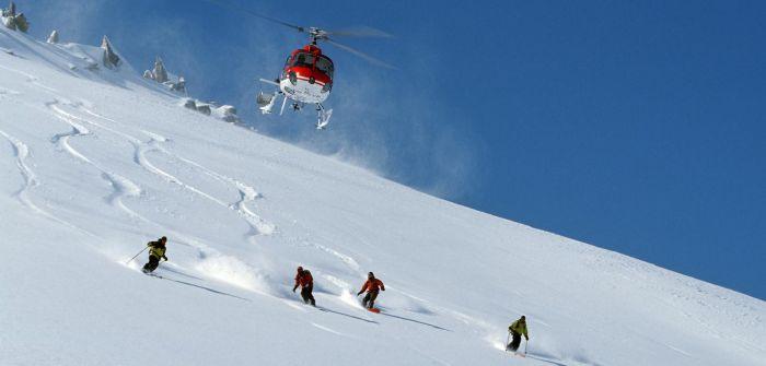 Heli Skiing in the Himalayas
