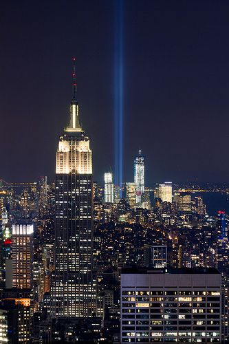 Lights On Pinterest Remembrance Photos Ground Zeroes - Two beams light new yorks skyline beautiful tribute 911