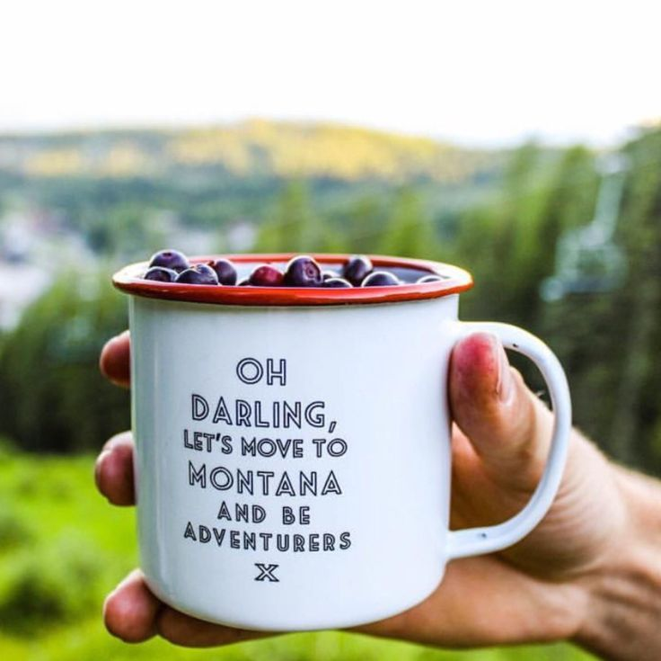Have you ever tried a Huckleberry? They are Heaven on Earth and only available for a few short months here in Montana.  Another reason to visit Montana and be an adventurer!
