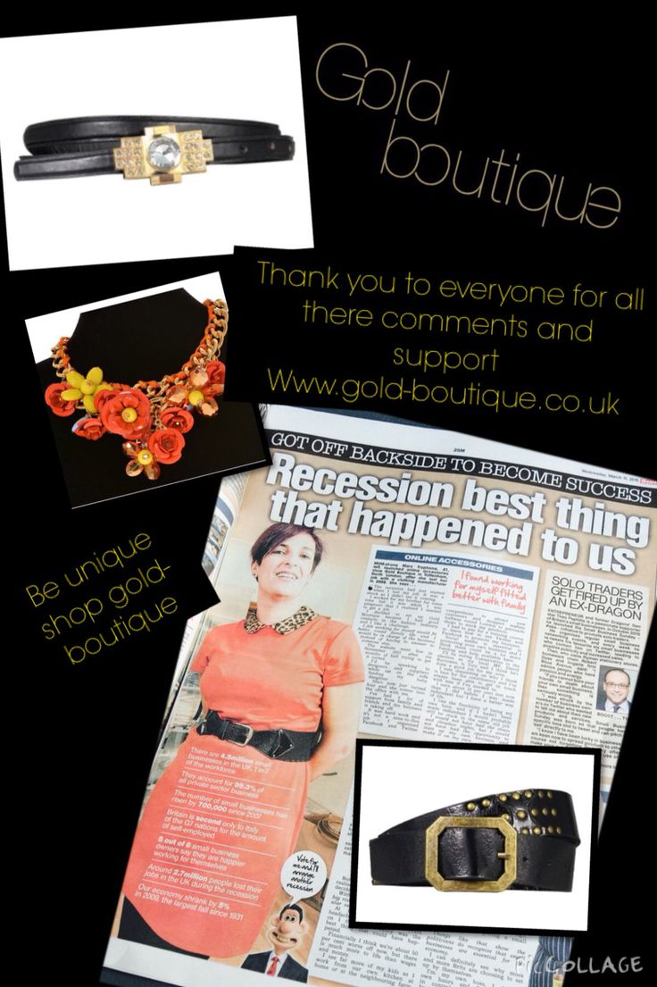 So happy great article in the sun newspaper March 11th 2015 gold-boutique