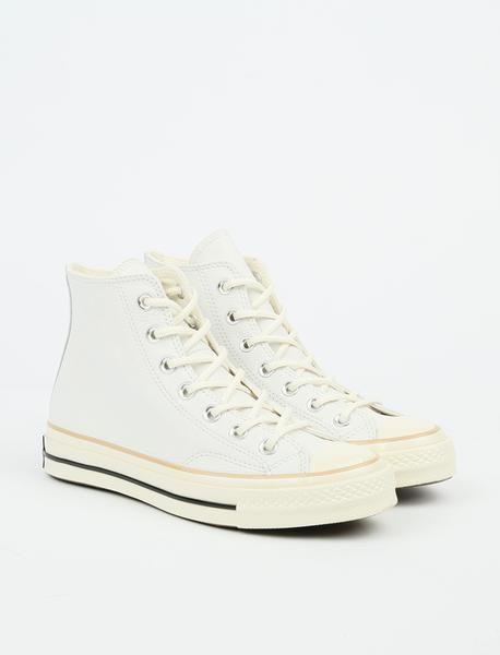 81fcaf5e9b4b7b Converse - Converse Chuck 70 Hi - White Light Fawn Egret - Pam Pam ...