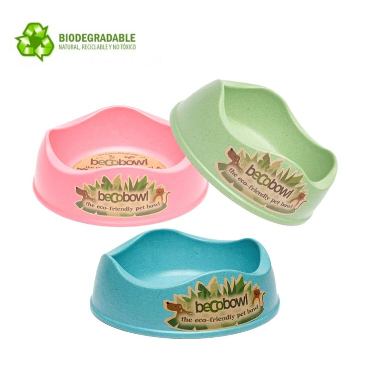 Comederos Biodegradables. Beco Bowl