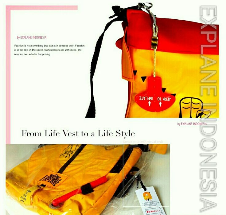 From Lifevest to a LifeStyle Explane Indonesia