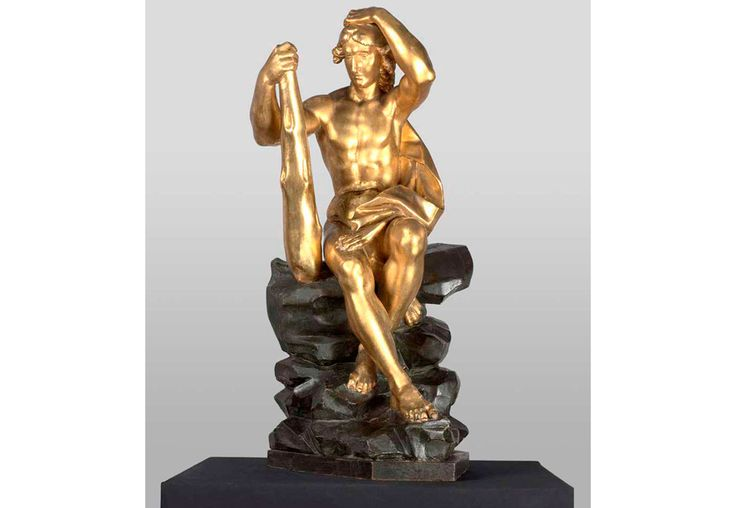 Lorenzo Haili – Cíclope y Hércules Lorenzo Haili (Hail, Heil, Aili, Ayli) (Fisto 1643 – Parma 1702) Cíclope Hércules Madera tallada, dorada y policromada. Cíclope : 94 x 38 x 40 cm. Hércules : 90x 39 x 44 cm. Adquiridos por el Museo de Trento el 8 de enero de 2008