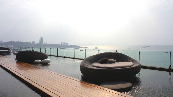 Drift Restaurant at the Hilton Pattaya Hotel, Thailand