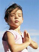 Kid's Yoga Lesson Plan for home or classroom: Letting Go (ages 3-5) | Jane Yoga