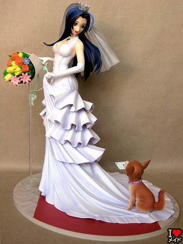 A wedding cake topper or just for the knot