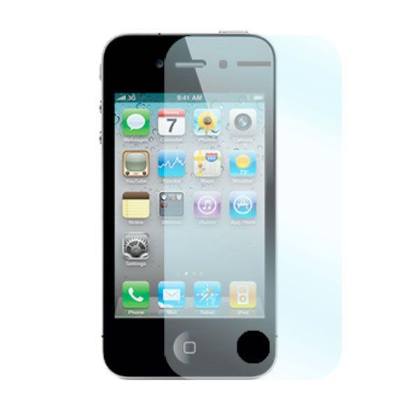Två stycken skyddsfilmer för Apple iPhone 4/4S mobiltelefoner.  http://se.innocover.com/product/1/apple-iphone-44s-skarmskydd-2-pack
