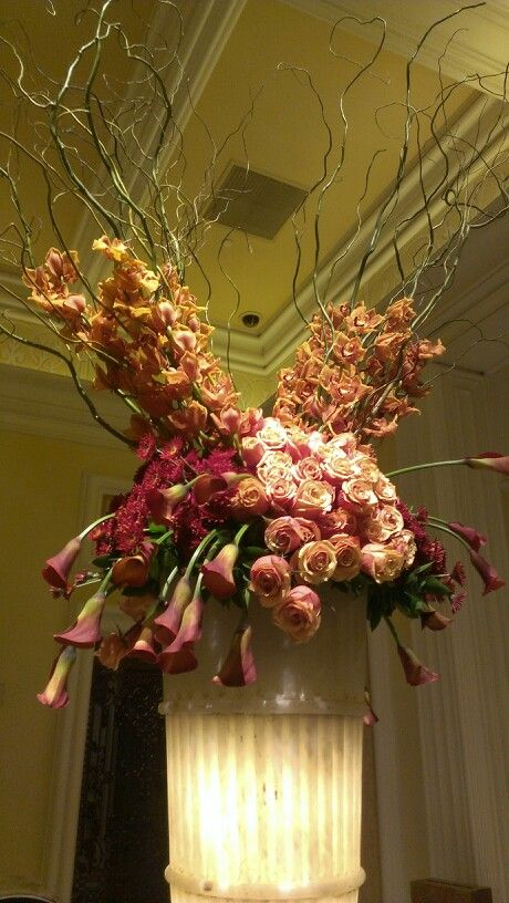 Fall floral arrangement at the bellagio hotel lobbie las