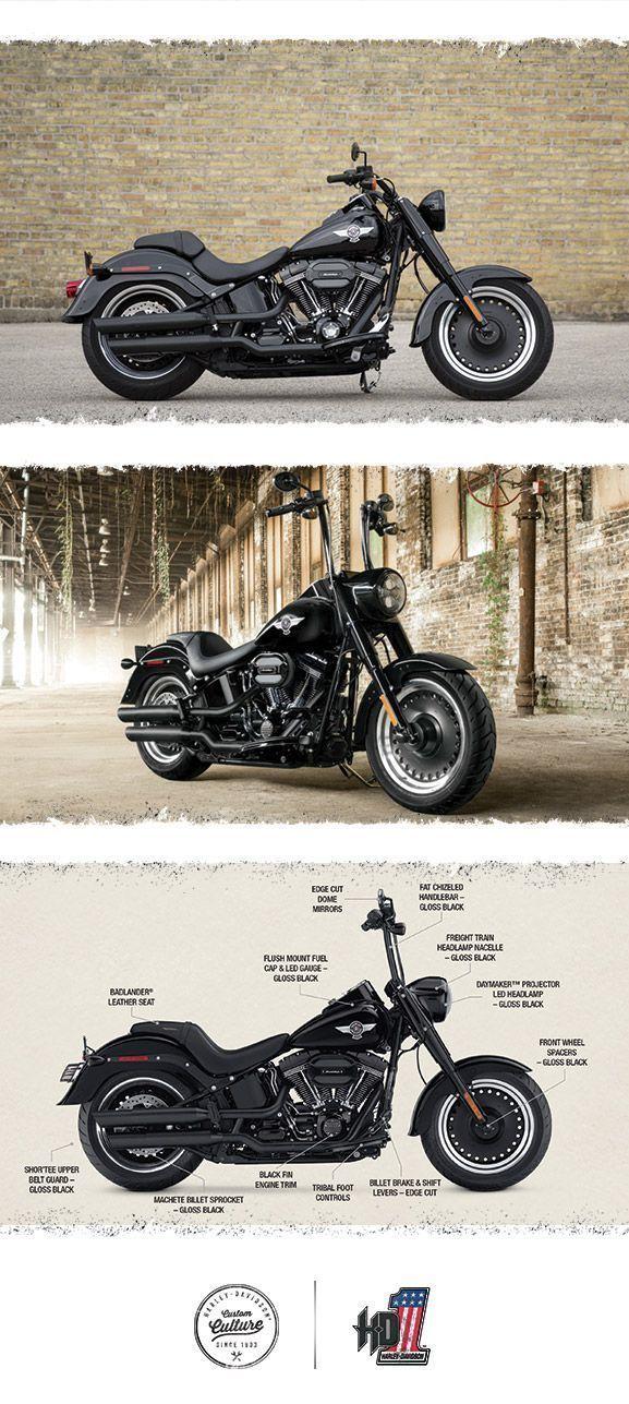 Born to be wild. Built to go the distance. | 2016 Harley-Davidson Fat Boy S #harleydavidsonbreakoutape #harleydavidsonbreakout2016