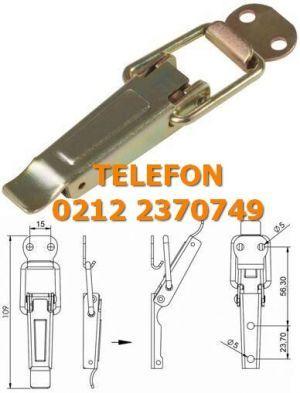 Germe Kilit A200 Satış Telefonu 0212 2370749 Germe Kilit : Bu germe kilitle gererek çekme kilitleme ihtiyacınızı görürsünüz. Anahtarsız germe kilit haricinde anahtarlı germe kilit çarpmalı kilit anahtarlı askı kilit buzdolabı kiliti vurmalı kilit modelleri vardır. Kilit çeşitleri ve gerdirerek kapatmak istediğiniz kapaklar saç kabinlere germe kilit satışı için arayınız 0212 2370749-50-51-59