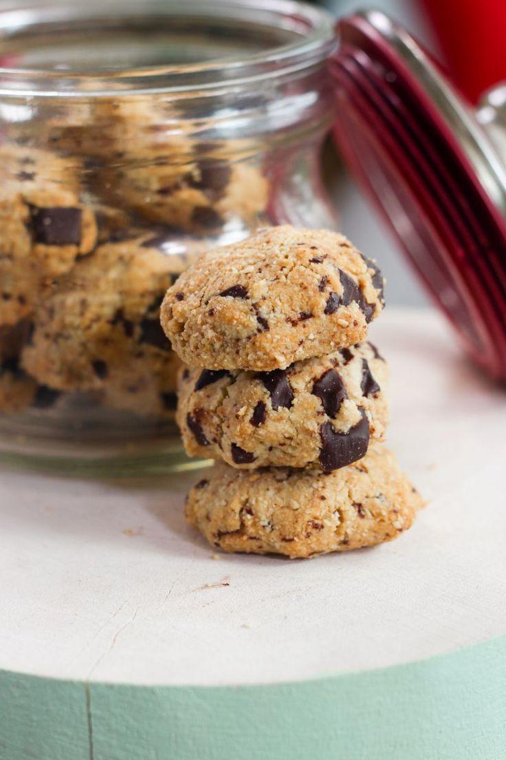 """Het lekkerste recept voor """"Koekjes met chocolade"""" vind je bij njam! Ontdek nu meer dan duizenden smakelijke njam!-recepten voor alledaags kookplezier!"""