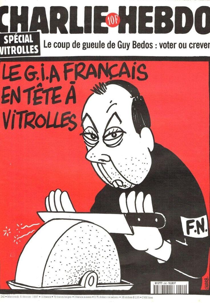Charlie Hebdo - # 242 - 5 Février 1997 - Couverture : Charb