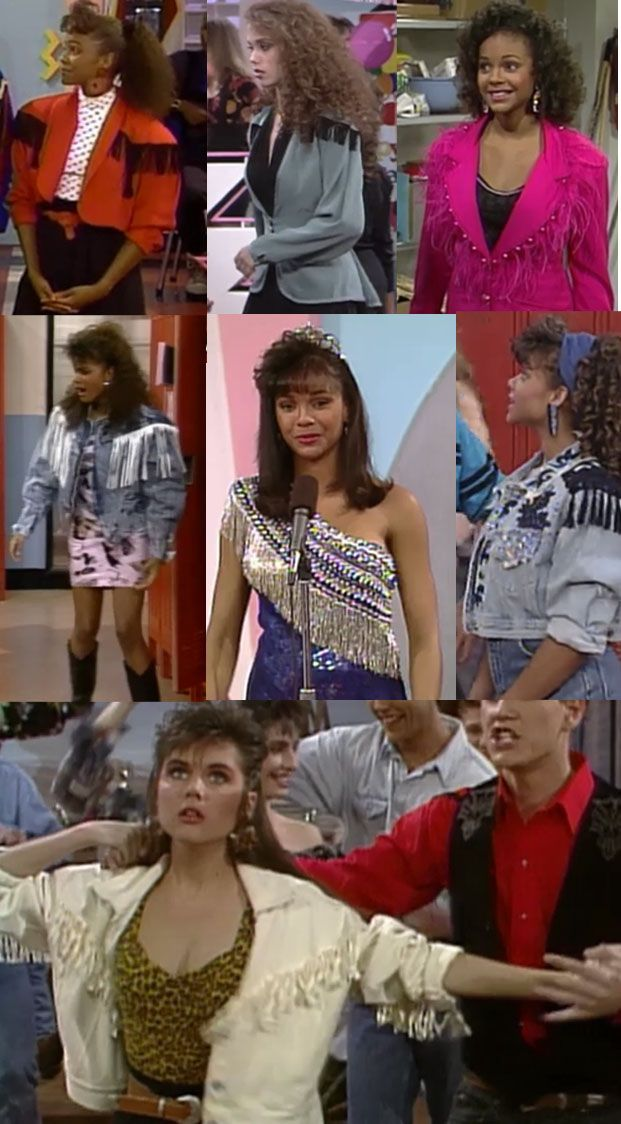 "Fringe was a thing. | The Ultimate Guide To ""Saved By The Bell"" Fashion"