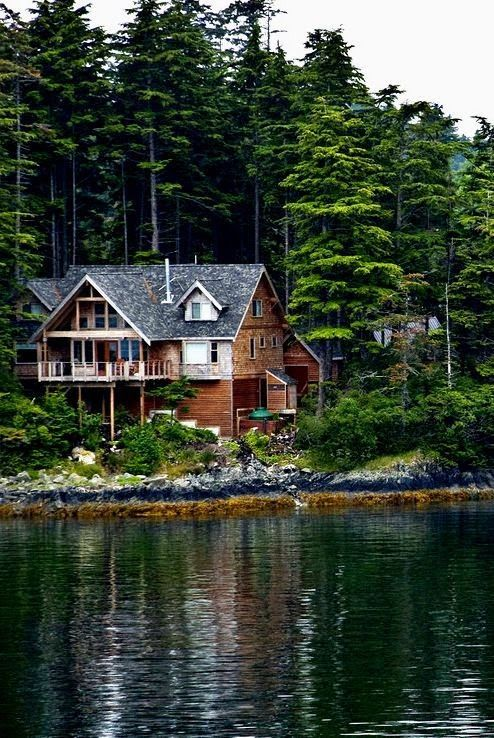 When I Get Rich And Have Multiple Homes Such A Dream To Live In The Mountains On A Lake