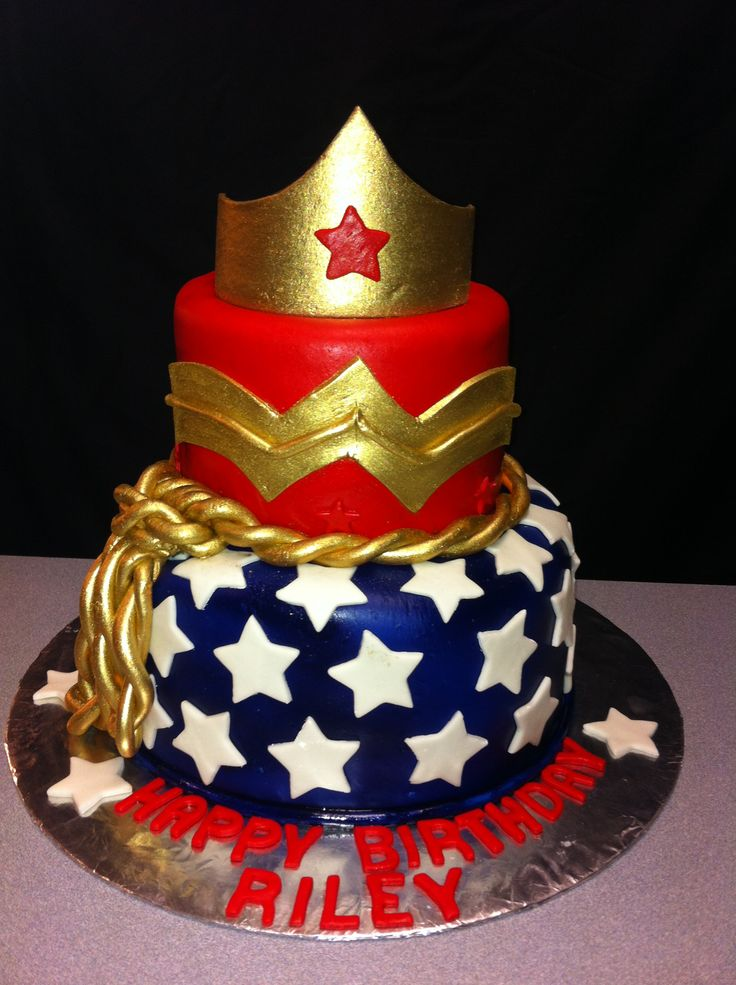 Wonder Woman Birthday Cake Ariel Rodriguez You Ll Love