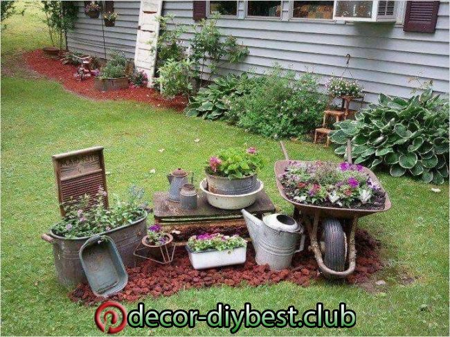44 Amazing Rustic Garden Ideas That Will Amaze You Find Here 44 Amazing Rustic Garden Ideas That Will Amaze Y Rustic Gardens Rustic Garden Decor Garden Decor