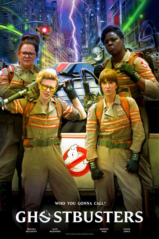 Ghostbusters, Paul Feig, 2016 [So wanted to love this but, well, couldn't. Review here: https://rateyourmusic.com/film_collection/mrknope500/rating8871542 ]