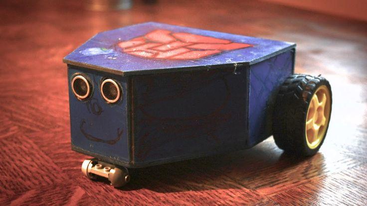 Dziecko Transformer (autobot) - jak zrobić robota unikającego przeszkód ...