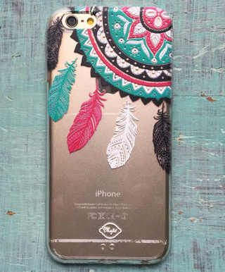 Carcasa Celular Big Dream Catcher - Mytó Design — Larinlaran. Tienda Virtual de Diseño y Moda. $40.000
