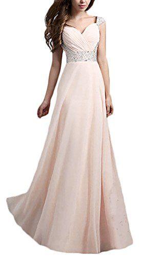 a422734d030b Donna Vestiti Da Cerimonia Abiti Da Matrimonio Lunghi Elegante Estive  Vintage Splicing Paillettes Ragazze Vestitini Da