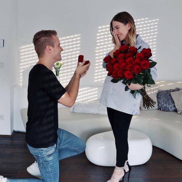 Schwangere Bibi Heinicke Verlobung Mit Ihrem Julian Hochzeitsantrag Bibi Und Julian Schwanger