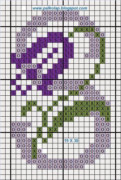 Palkó-lap: 789. Néhány betű / Einige Buchstaben