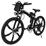 Amazon Angebote SportingGoods Bike Ancheer Faltbares E-Bike, 26 Zoll Elektrofahrrad 36V 250W Elektrisches Mountainbike mit…%#Quickberater%