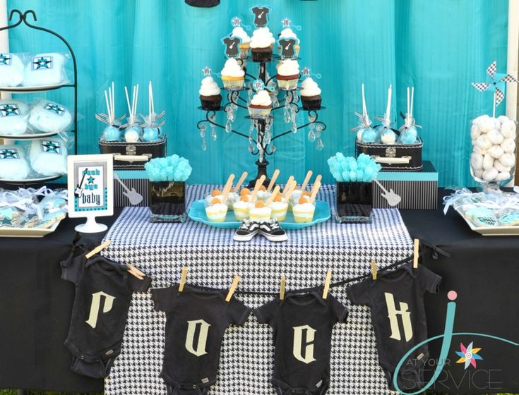 non traditional baby shower ideas