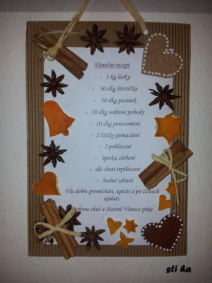 Vánoční recept