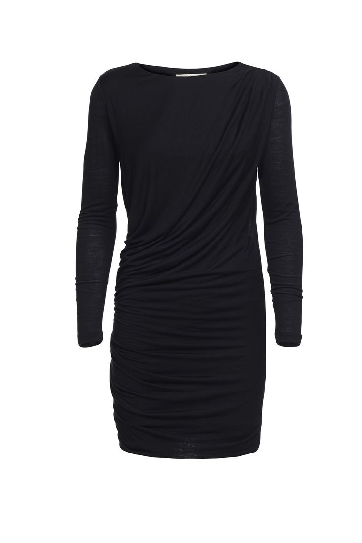 Tricotage tencel/organic wool dress (black)