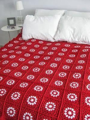 FIFIA CROCHETA blog de crochê : coberta em crochê inspiração