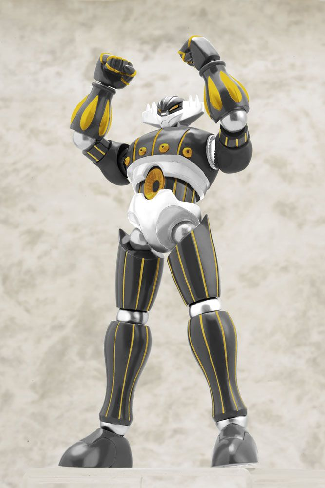ETA06/2015.Pre-order deadline:26.05.2015Note: Thisis a preorder, you will receive the item in the ETA.The Black Spot will keep you posted on the status of your preorder.From anime series ´Steel Jeeg´ comes this amazing figure of Jeeg! It stands approx
