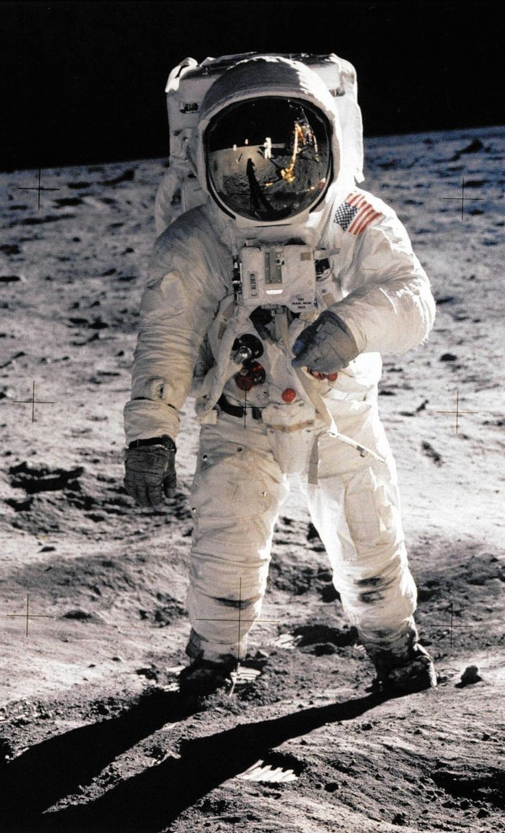 #ShowerThoughts. Aliens invaded the #Moon on July 20th, 1969. - pollenatedweasel