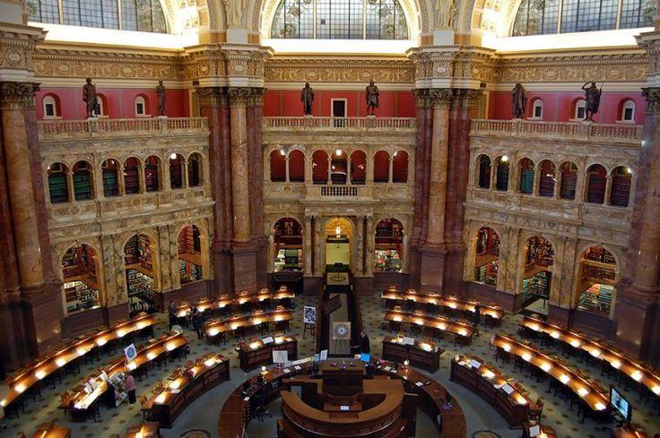 Η Βιβλιοθήκη του Κογκρέσου, Ουάσιγκτον, Η.Π.Α.