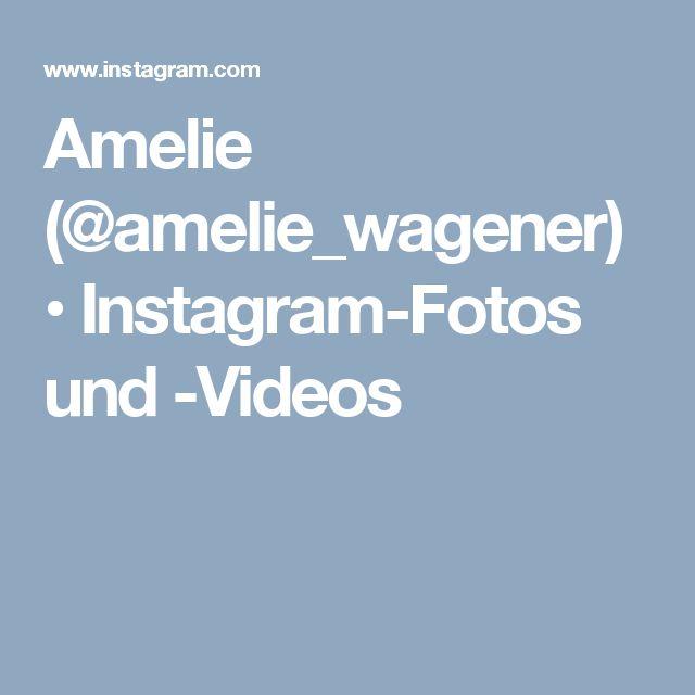Amelie (@amelie_wagener) • Instagram-Fotos und -Videos