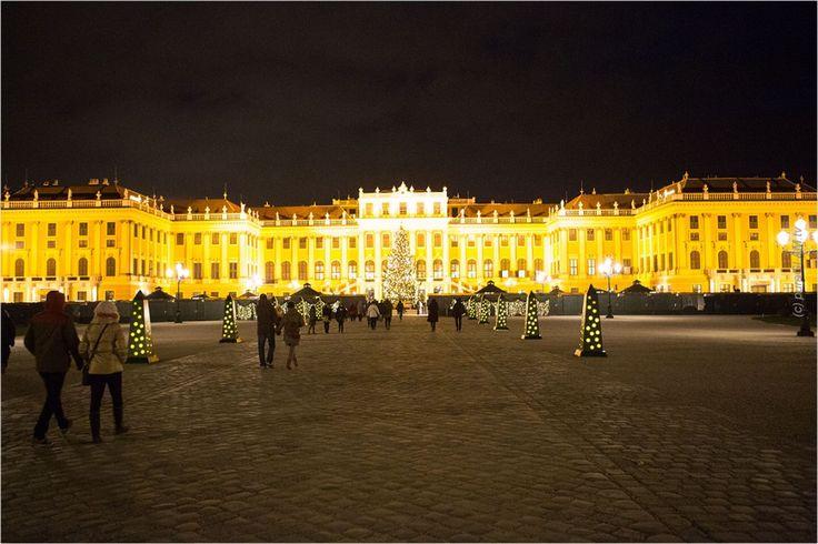 Schloss Schönbrunn - Weihnachtsmarkt und Adventsmarkt in Wien