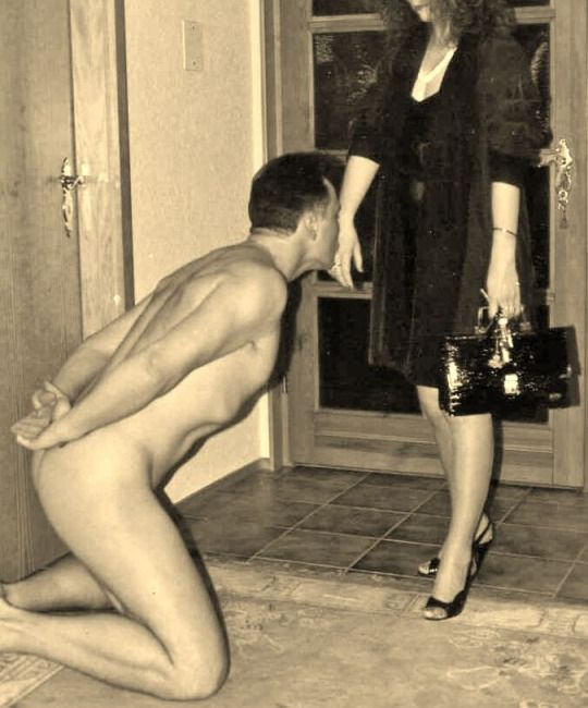 oldvsyoung femdom submissive training