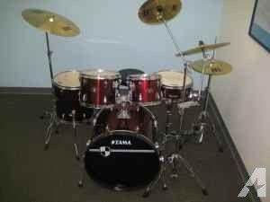 TAMA drum set for sale, excellent used condition!! - $700 (Mansfield, LA)