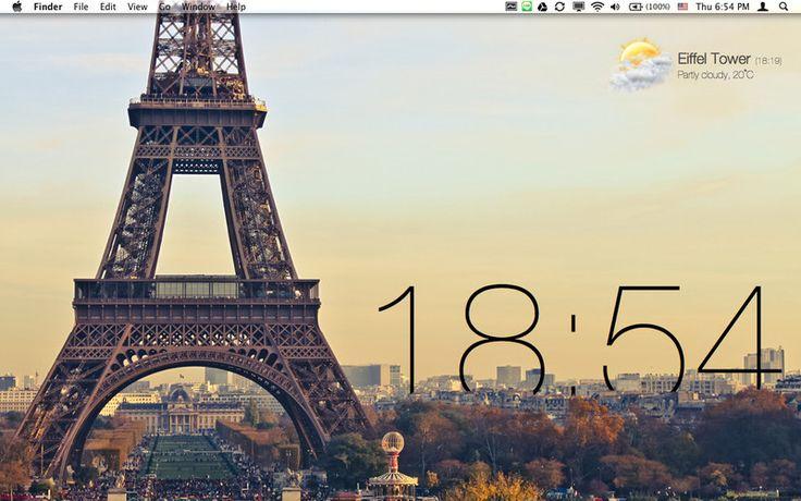 Live Wallpaper, Mac Os X
