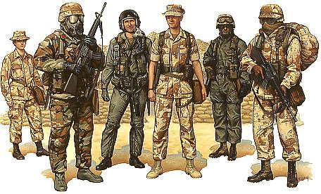 gulf war 1991 prints - Bing Images   Action Pictures of Soldiers ...