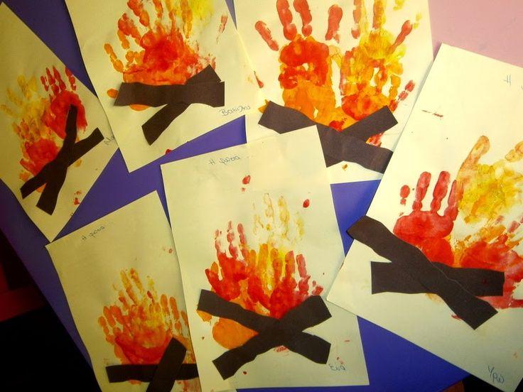 Προσχολική Παρεούλα : Κρύο, φωτιά, ρόφημα ζεστό ...