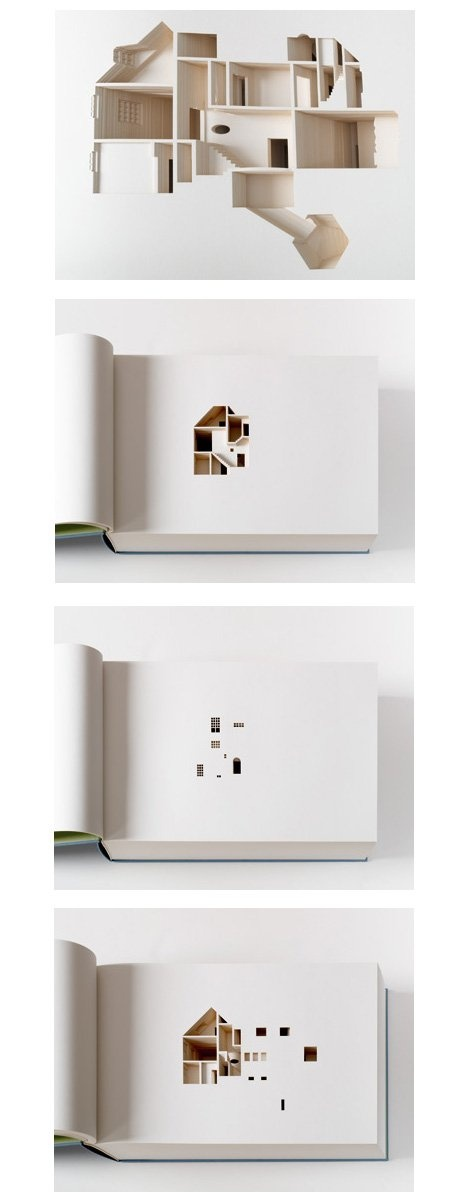 Hollowed Out Architecture Book   Your House