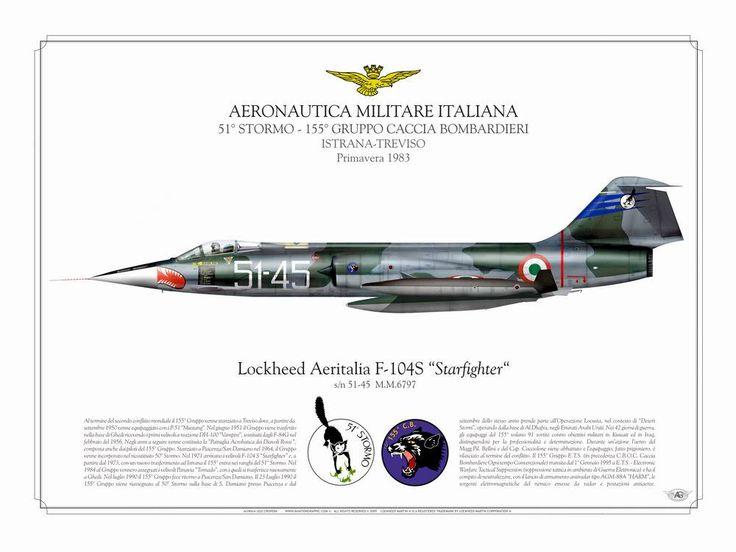 """F-104S """"51-45"""" 51°Stormo 155°Gruppo Istrana"""