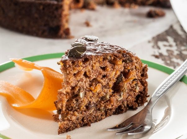 Sugar-free carrot cake • This tea-time treat is a hit even for those with a sweet tooth. It uses xylitol, sultanas and carrots instead of sugar for sweetness.