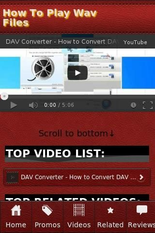 <b>How To Play Wav Files</b><br>The unofficial How To Play Wav Files app.<p><b>Recent Videos</b><br>• Play audio file in java(*.wav files).mp4<br>• Hot To Play Wav Files In Ableton Live - How To Connect Your Midi Keyboard To Ableton 7, 8, 9<br>• How to Read and Play .wav files in Matlab<br>• How to  Play Wav  files  In  C++<br>• Use Audacity To Convert Midi File To Wav<br>• Free Pascal Lazarus App Tutorial 11 - Playing Wav Sound Files On Mac<br>• Free Pascal Lazarus App Tutorial 10 - Playing…