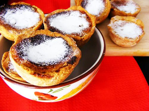 Portuguese Pastéis de Feijão. Amazing and very special. Must try! ) #portuguese #portugal #food