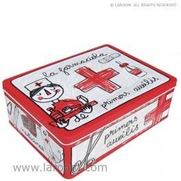 """Laroom - Caja de metal """"farmaciola"""" - Laroom dissenya i fabrica productes per a la llar i la vida - www.laroom.com"""