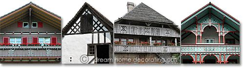 Decorating a Chalet Style Home | swiss country house styles