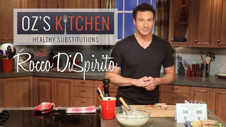 Healthy Substitutions: Magnificent Mayonnaise: Mayo is loaded with fat, calories – even sugar! Strip yours of unhealthy ingredients, not flavor, with chef Rocco DiSpirito's fat-free, low-calorie and gluten-free version of this staple sandwich spread.